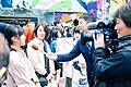 Announcement of New Era 'Reiwa' at Shibuya Station (49316272368).jpg
