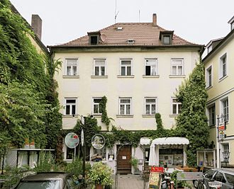 2016 Ansbach bombing - Eugens Weinstube, where the explosion happened