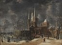 Anthonie Beerstraaten - A Winter's Day outside a Dutch Town - KMSsp492 - Statens Museum for Kunst.jpg