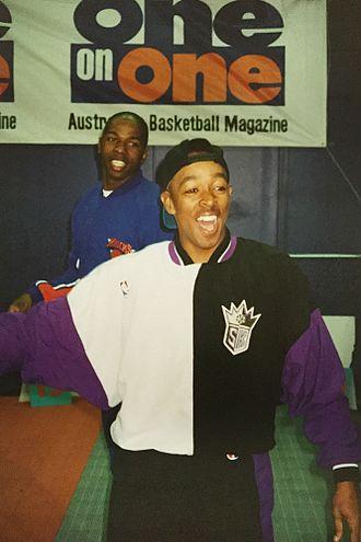 Spud Webb - Webb at an Australian basketball exhibition in 1994
