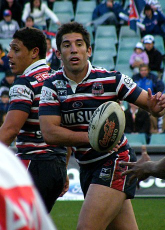 Braith Anasta - Anasta playing for the Roosters in 2008
