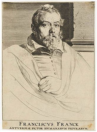 Frans Francken the Younger - Frans Francken by Anthony van Dyck