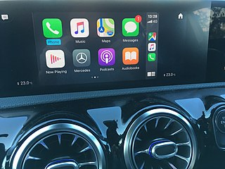 CarPlay protocol for connecting Apple hardware to car radios