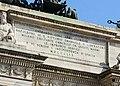 Arco della Pace - Iscrizione 1859.jpg
