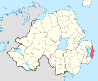 Ards Upper Place in Northern Ireland, United Kingdom