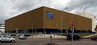 Riesen Ludwigsburg - The MHP Arena is the home arena of the club since 2009