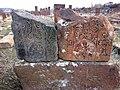 Arinj khachkar, old graveyard (39).jpg
