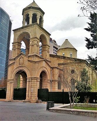 Armenian Church, Baku - The church in April 2013