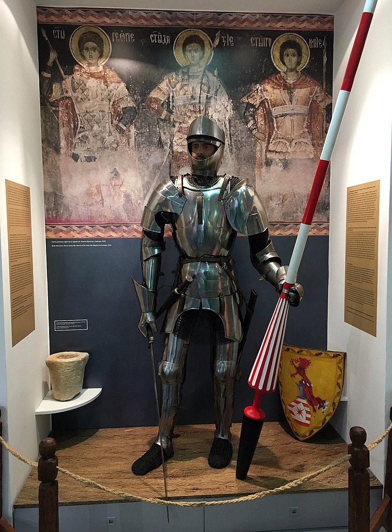 Armure d'un chevalier Serbe du 15e siècle