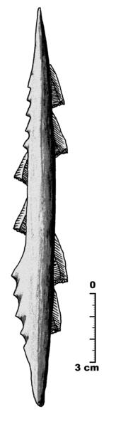 Arpón magdaleniense