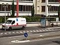 Arrêt de bus « Challes Centre » (entretien) - Challes-les-Eaux, 2017.jpg