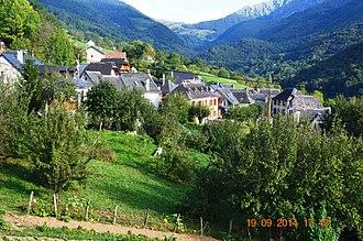 Arrien-en-Bethmale - A general view of Arrien-en-Bethmale