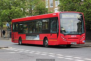 Arriva Kent Thameside bus 3996 (GN07 DMV), 11 May 2013.jpg
