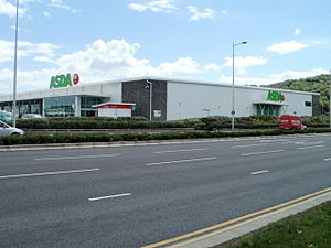 Leckwith development - Asda supermarket
