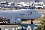 Asiana Airlines, Boeing 747-48EF, HL7420 - LAX (22709700950).jpg