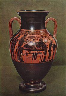 bilingual vase painting - Vase Painting