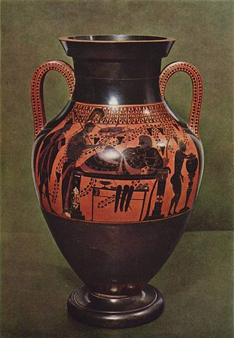 Typology of Greek vase shapes - Image: Athena Herakles Staatliche Antikensammlungen 2301 B full