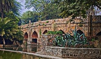 Lodi Gardens - The Athpula (eight piers) bridge in Lodi gardens