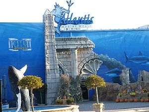 Long Island Aquarium and Exhibition Center - Image: Atlantis marine world