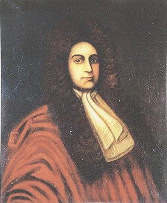 Augustine Warner Sr. - Portrait of Augustine Warner Sr.