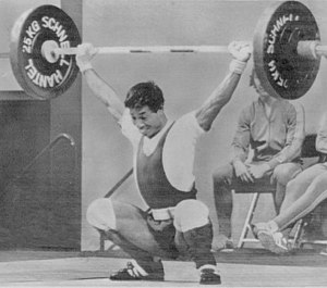 Aung Gyi (weightlifter) - Gyi at the 1972 Olympics