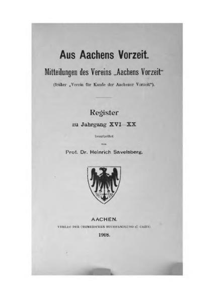 File:Aus Aachens Vorzeit Register 16-20.djvu