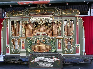 Street organ - Image: Australia Fair Dutch Street Organ