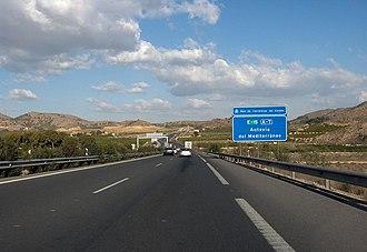 Autovía A-7 - Image: Autovía del Mediterráneo