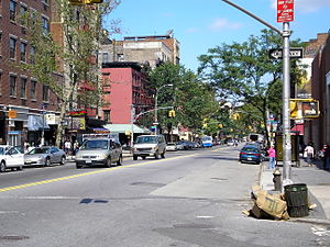 Alphabet City, Manhattan - Avenue A from East 5th Street