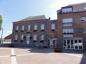 Avesnelles - Image: Avesnelles (Nord, Fr) mairie