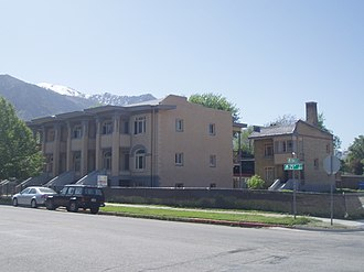 National Register of Historic Places listings in Weber County, Utah - Image: Avon Apartments Ogden Utah