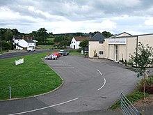 The factory outlet for Axminster Carpets Ltd, in Axminster, Devon