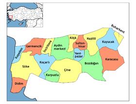 Carte Turquie Kusadasi.Kusadasi Wikipedia