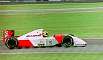 Ayrton Senna - Mclaren MP4-8 at the 1993 British Grand Prix (32844043794).jpg