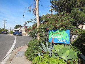 Azalea Park, San Diego - Entrance to Azalea Park