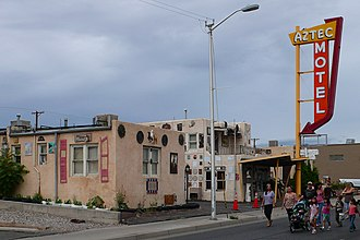 Aztec Motel - Aztec Motel in 2010