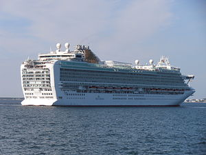 Azura departing Port of Tallinn 25 May 2012.JPG