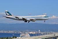 B-LJJ - B748 - Cathay Pacific
