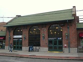 Rockaway Park–Beach 116th Street (IND Rockaway Line) - Station house