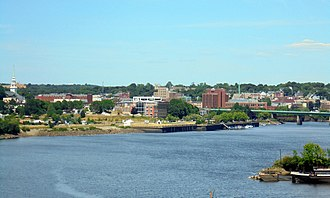 Bangor, Maine - Downtown Bangor from I-395