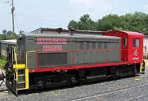 Buckingham Branch Railroad - Image: BBRR4 Dillwyn WJ Grimes