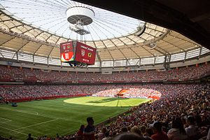 Canada–Mexico–United States 2026 FIFA World Cup bid - Image: BC Place (19184865604) (2)