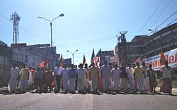 BJP Harthal Protesting against Sabarimala Women Entry 02.jpg