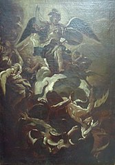 Religious Scene with the Archangel Gabriel