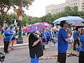 BP Dead Pelicans Lafayette Square Feathered Umbrella.JPG