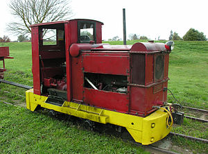 Blenheim Riverside Railway - Murray locomotive