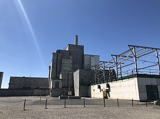 B Reactor - Exterior of the Hanford B Reactor as of 2018