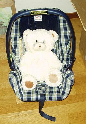 Baby car seat Svenska: Babyskydd