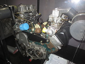 Matra Bagheera - Prototype U8 engine