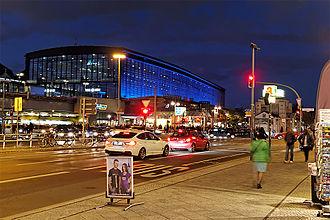 Berlin Zoologischer Garten railway station - Image: Bahnhof Berlin Zoo City West